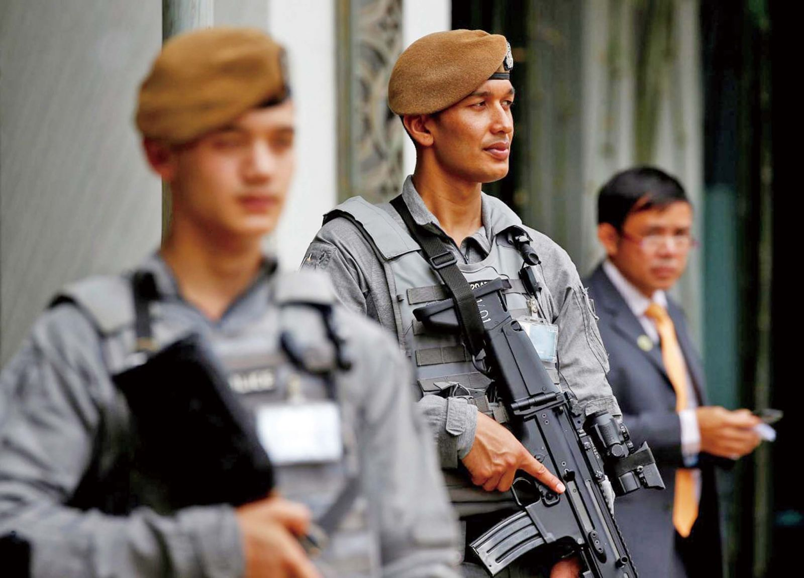 尼泊爾僱傭兵護駕特金會