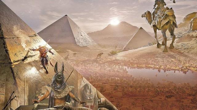 化身古埃及刺客