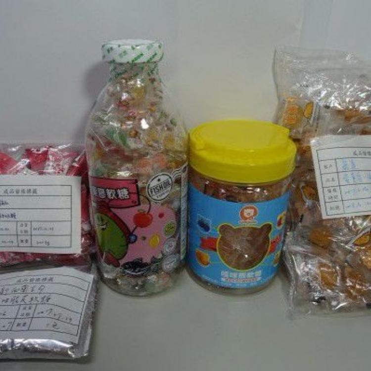 民署呼籲停售九款台製糖果