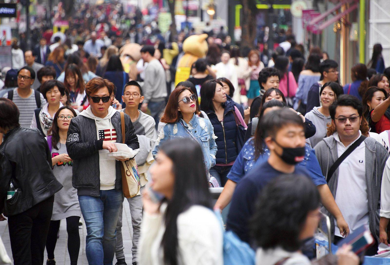 中企擬組3,000人團赴韓