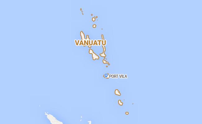 一周兩震 瓦努阿圖六級地震