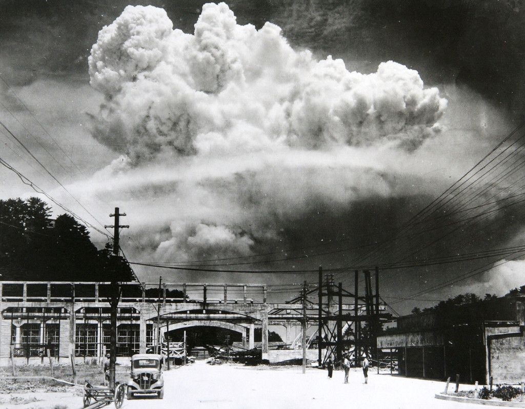 出席長崎原爆紀念儀式 推動核裁軍