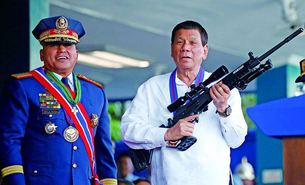 係菲國首位總統 展開歷史性訪問
