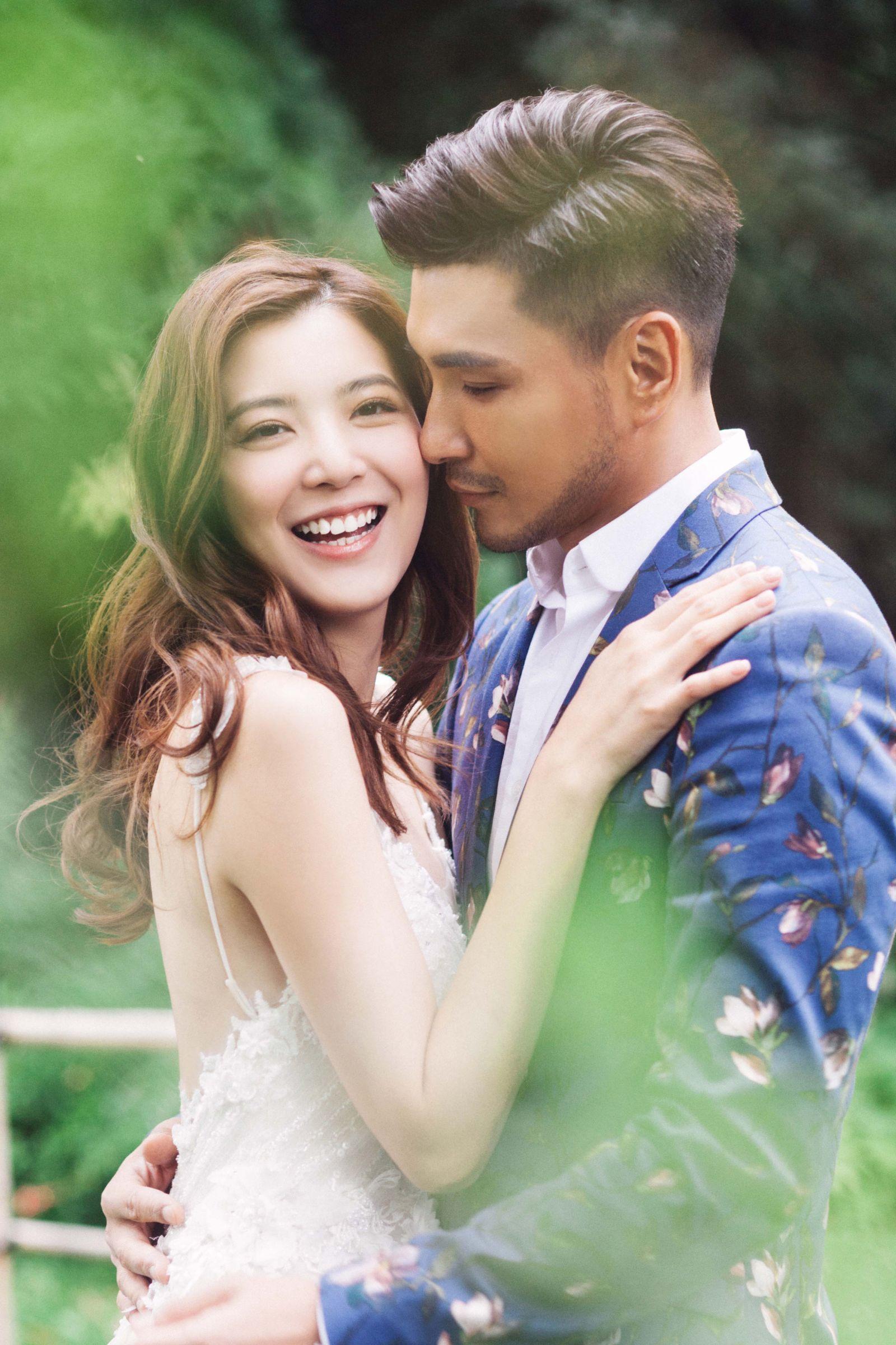 陳展鵬宣布十月迎娶單文柔