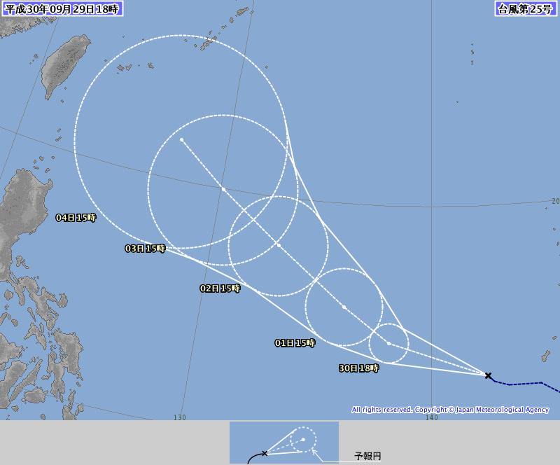 第25號颱風「康妮」生成