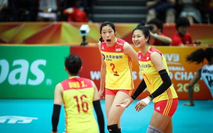 中國女排晉身最後六強