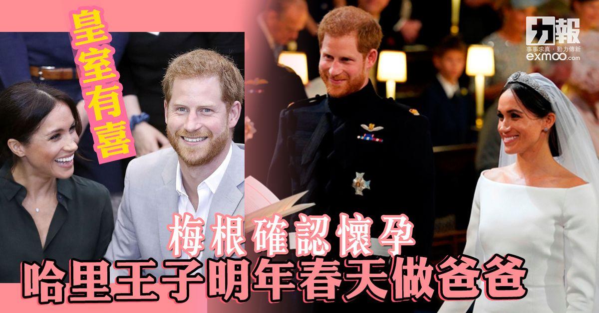 哈里王子明年春天做爸爸
