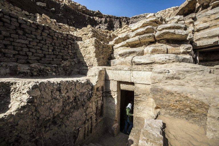埃及新發現逾4,400年歷史古墓