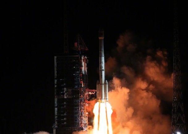 中國通信技術試驗衛星三號成功發射
