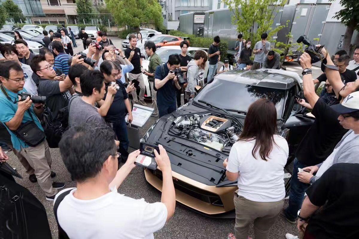Nissan GT-R50 by Italdesign香港展出