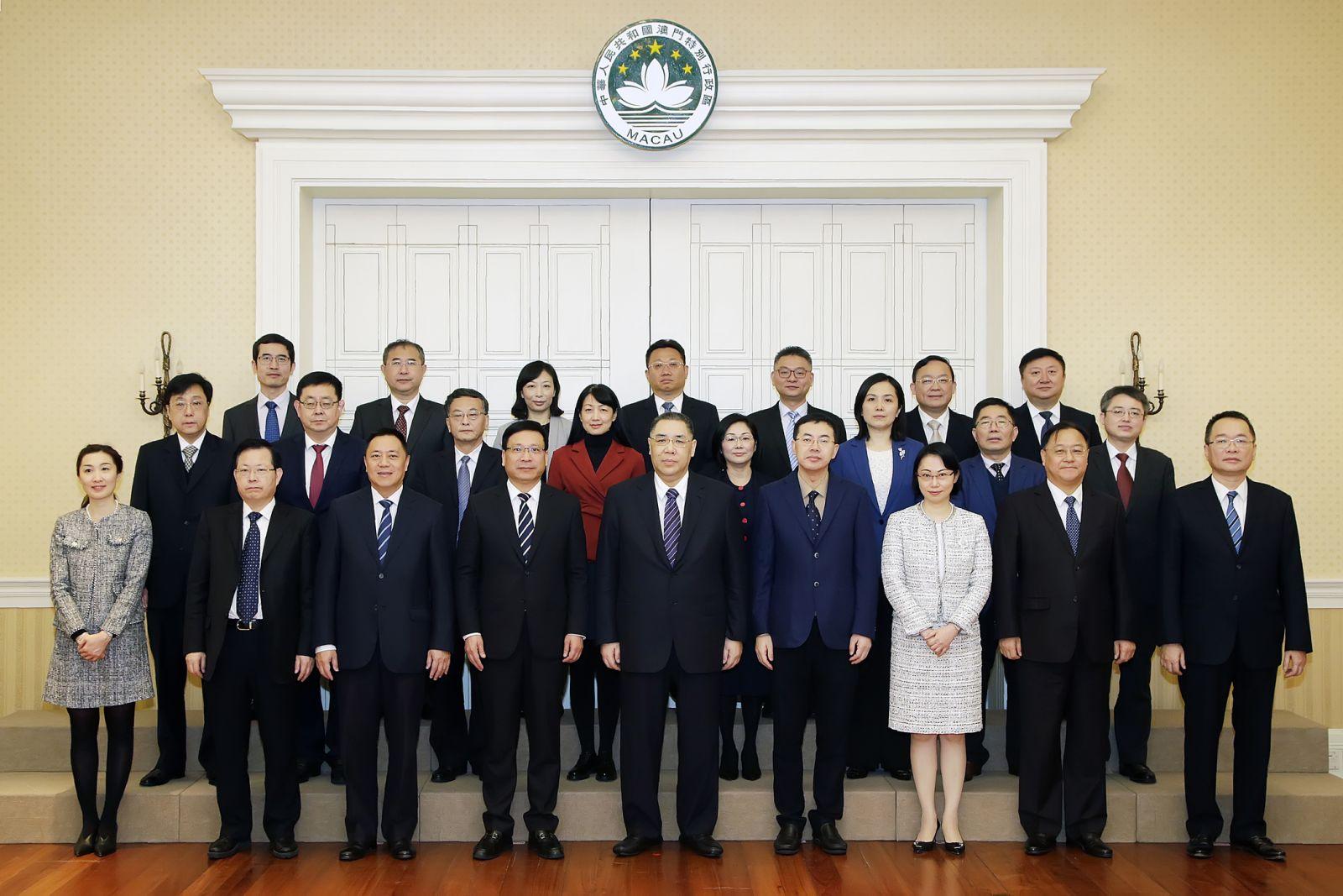 期望鞏固深化各個領域合作