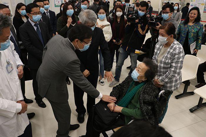 譚俊榮:4歲重症流感男童情況正在好轉