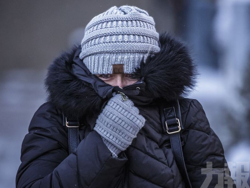 部分地區氣溫低見零下50度