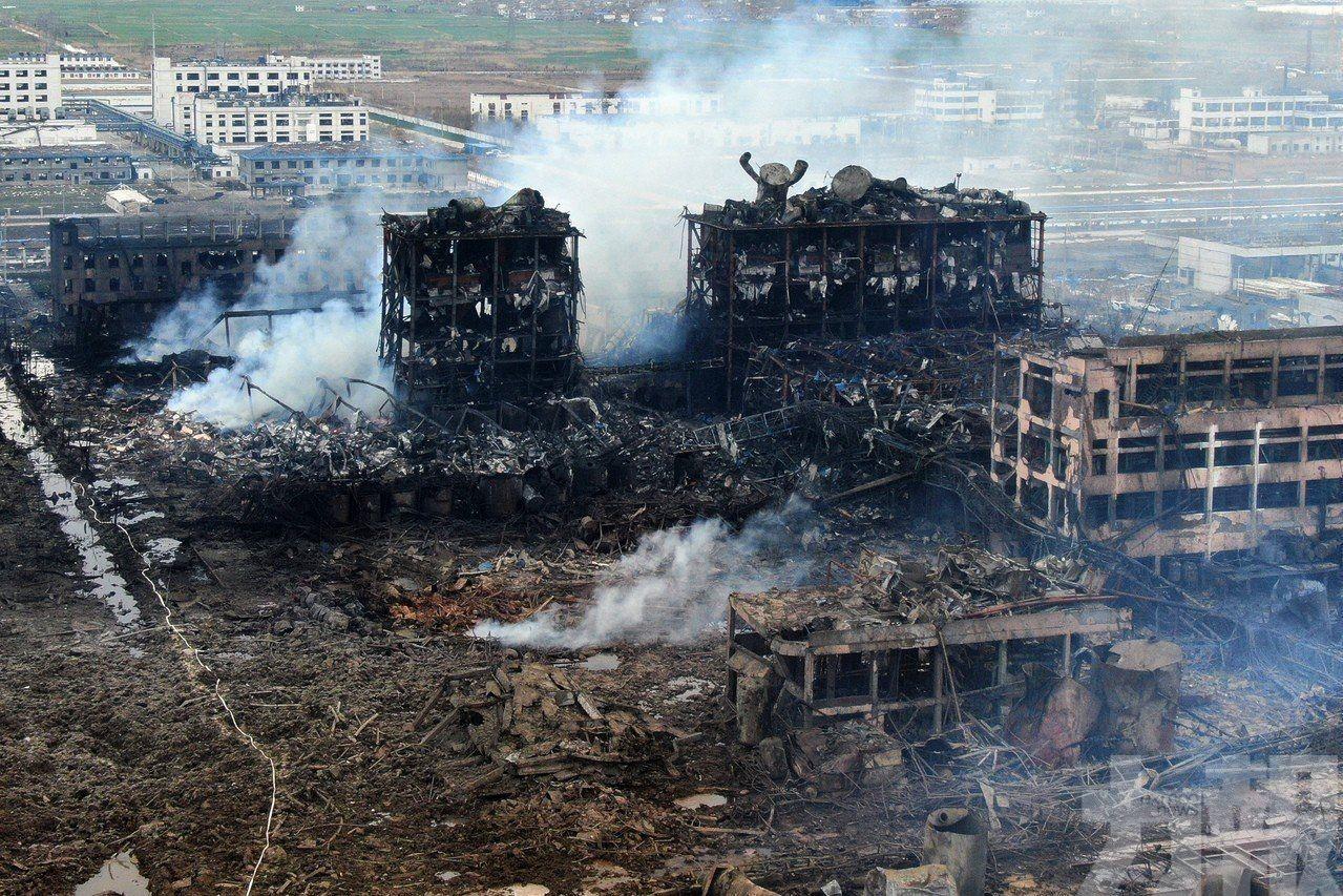 江蘇化工廠巨爆增至78人死亡