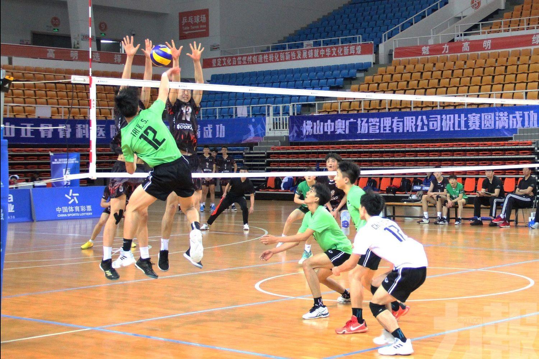 澳門男排3局負北京木樨園體校