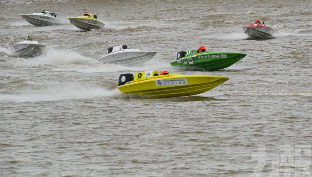 世界Powerboat錦標賽頒獎禮