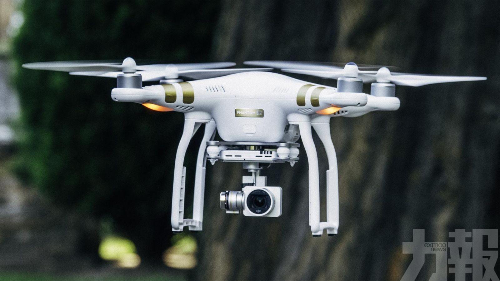 指中國製無人機收集敏感數據