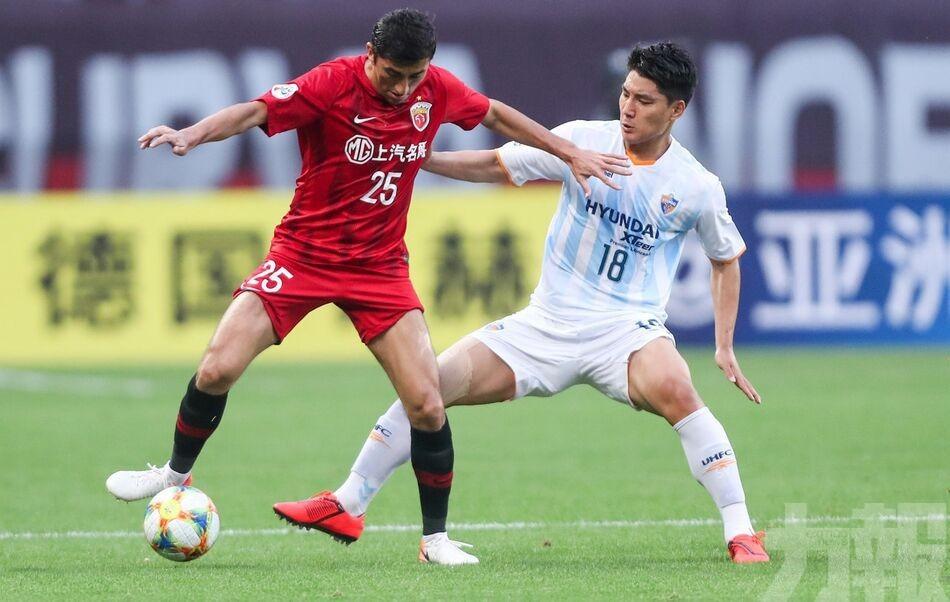 上海上港晉級亞冠16強