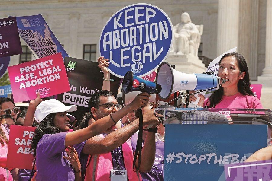 抗議多州通過墮胎禁令