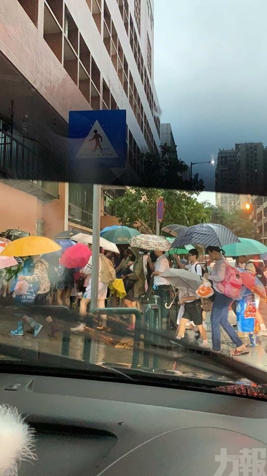氣象局:朝早7點僅10毫米雨量 未達標發布
