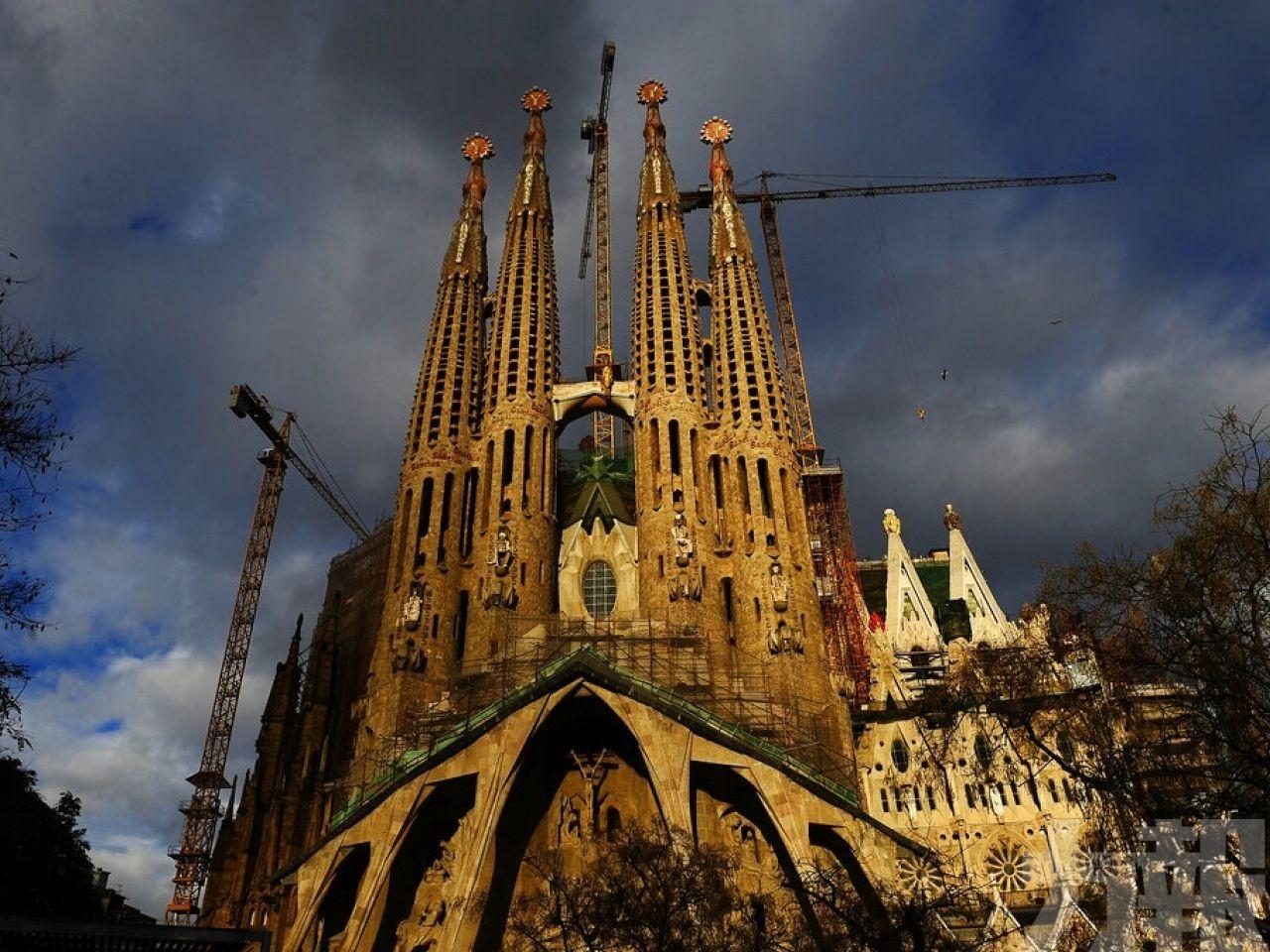 西班牙聖家大教堂終獲施工許可