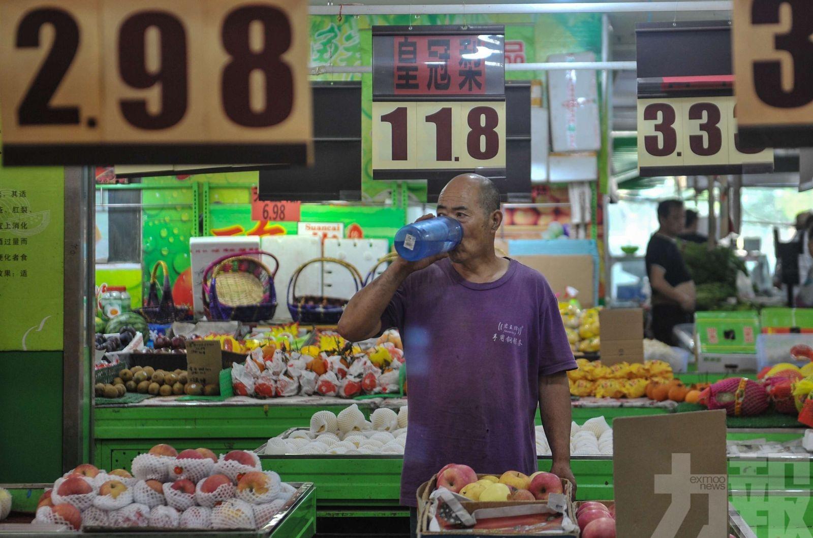 水果價格按年急升26.7%