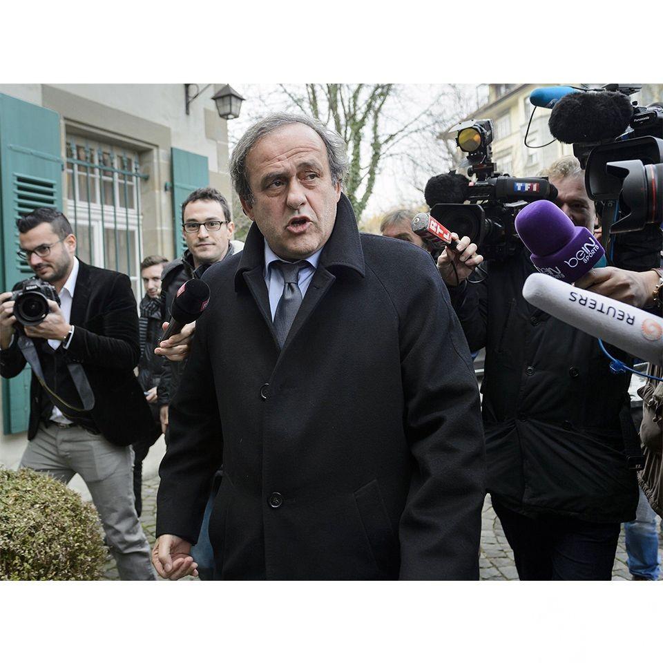 前歐洲足協主席柏天尼被捕
