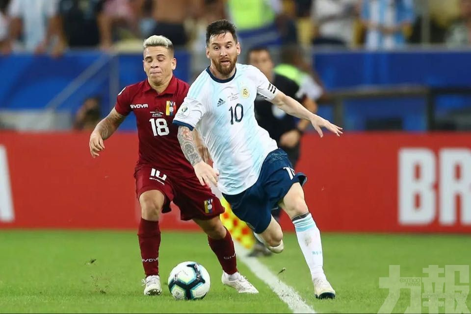 阿根廷美洲盃4強撼巴西