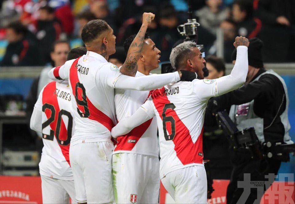 秘魯決戰巴西爭美洲盃冠軍