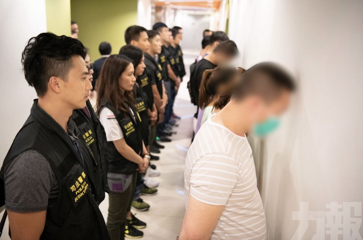 拘14人涉非法活動需調查