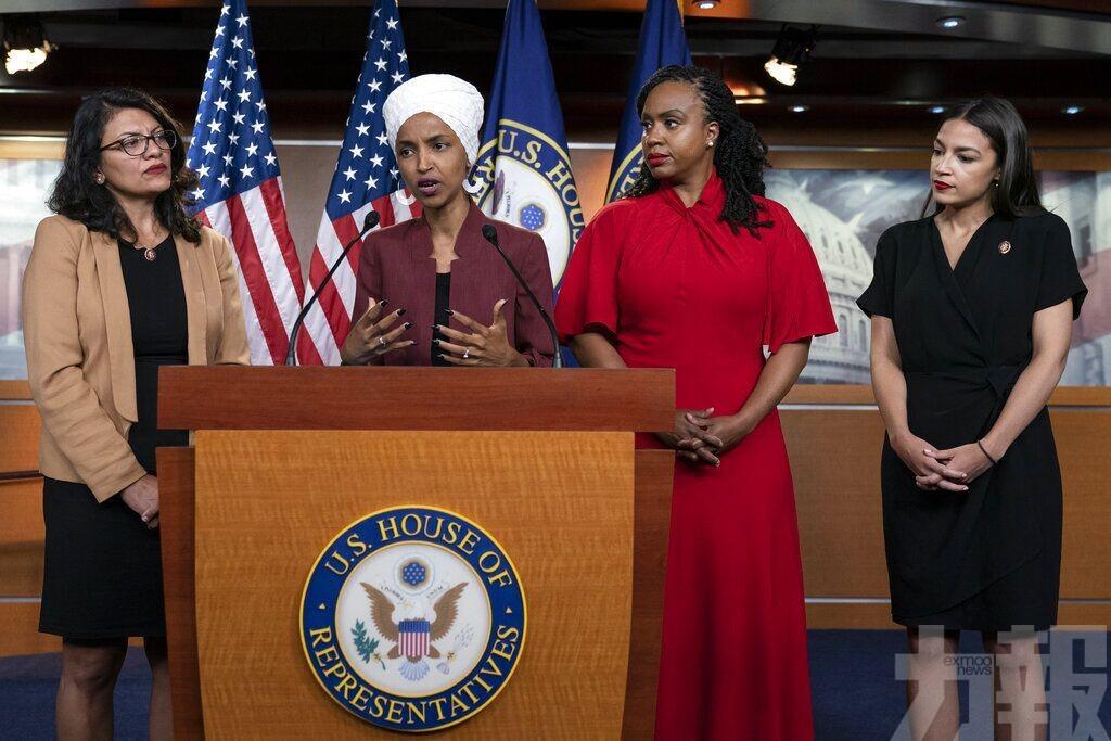 特朗普續向民主黨女議員下逐客令