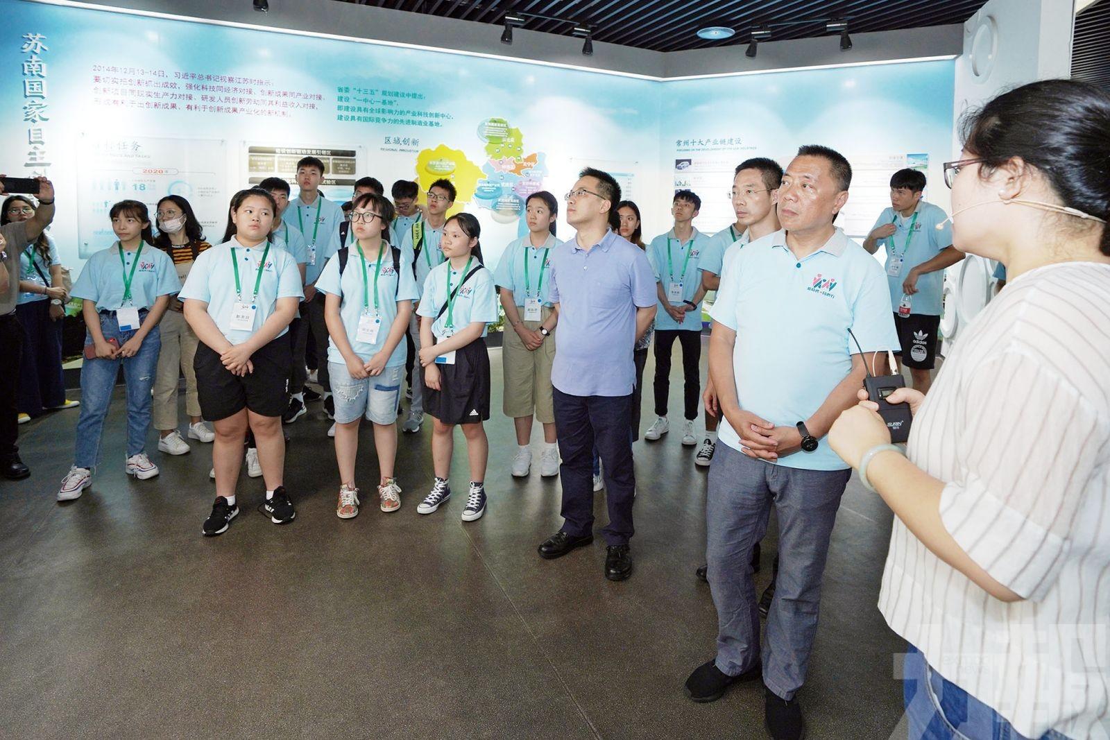江蘇團參訪儀征、揚州、常州
