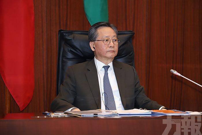 高開賢首次主持立法會大會