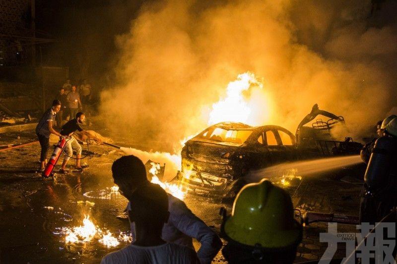 埃及開羅4車相撞爆炸 至少17死32傷