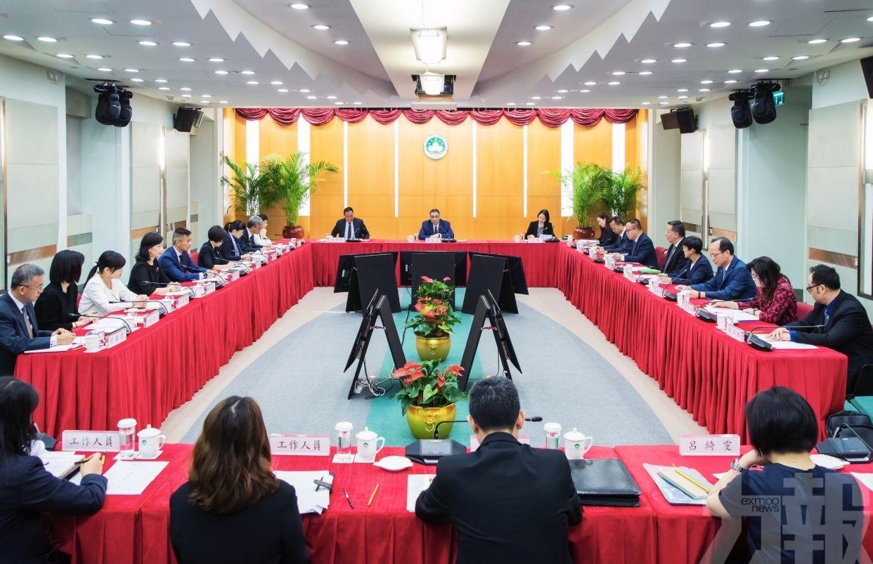 中葡商貿平台發展委總結工作進展