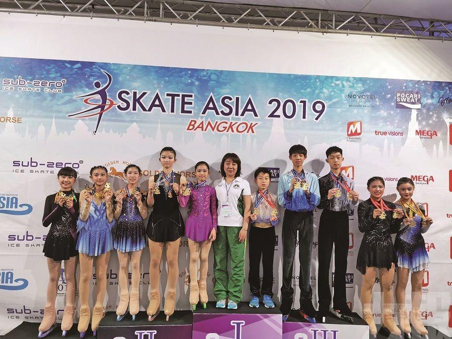 花滑小將亞洲邀請賽奪多面獎牌