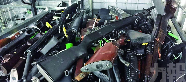 不足一個月回購逾萬支槍