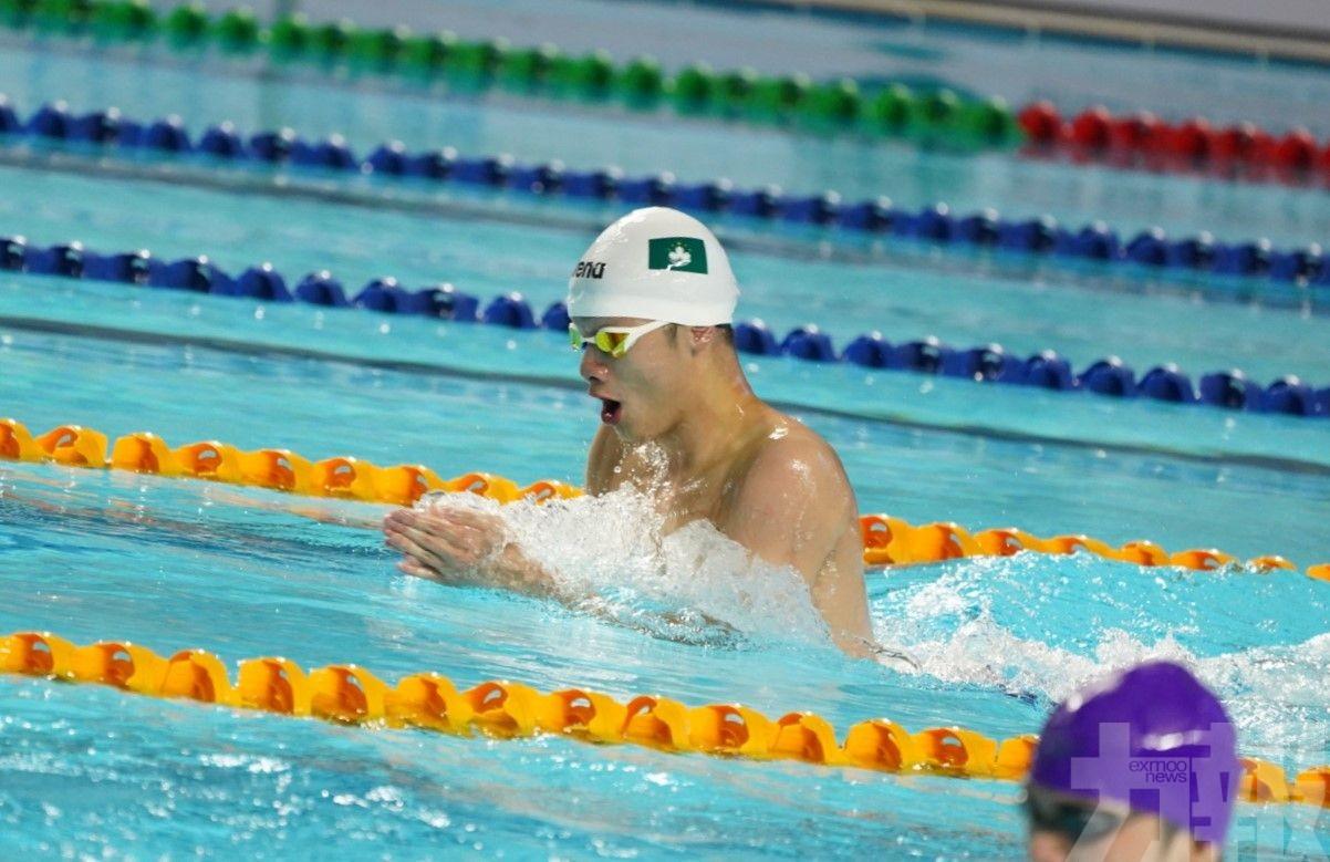 澳門泳手李殷齊「講得出做得到」