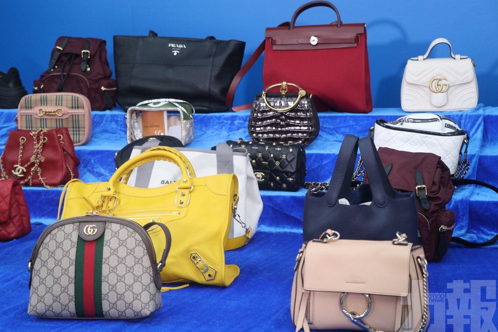 涉組「螞蟻大軍」運逾1,300件奢侈品