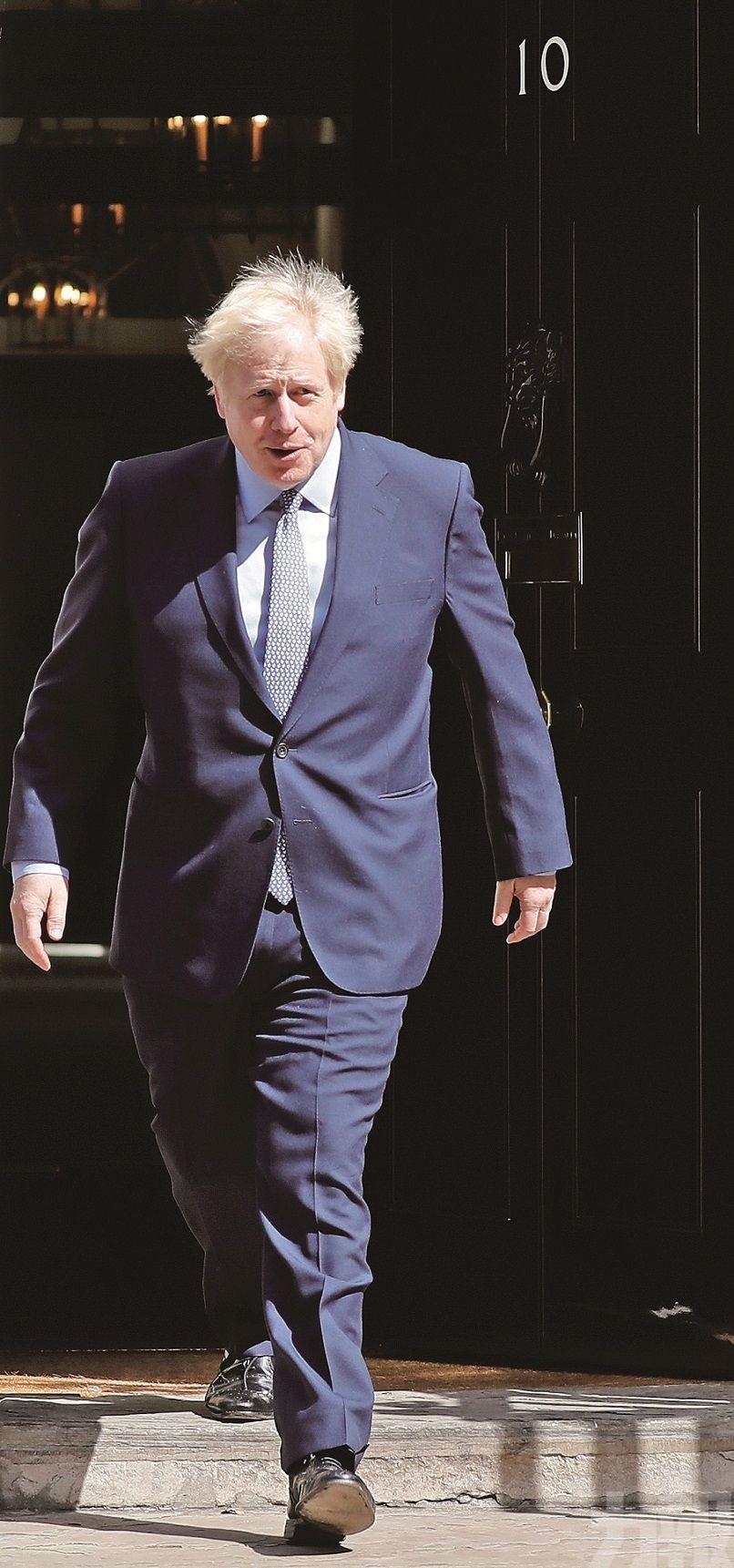 約翰遜致信歐盟 促重談脫歐協議