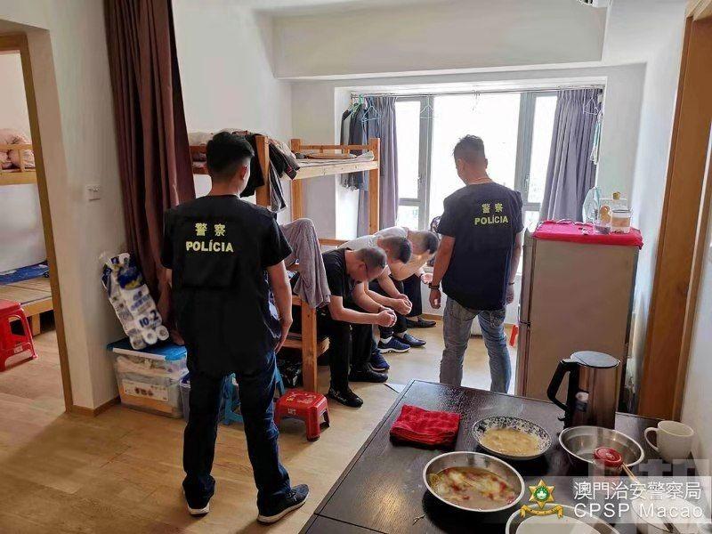 警方揭澳氹三單位經營非法旅館