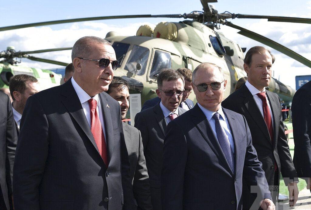 埃爾多安有興趣購買俄製新式戰機