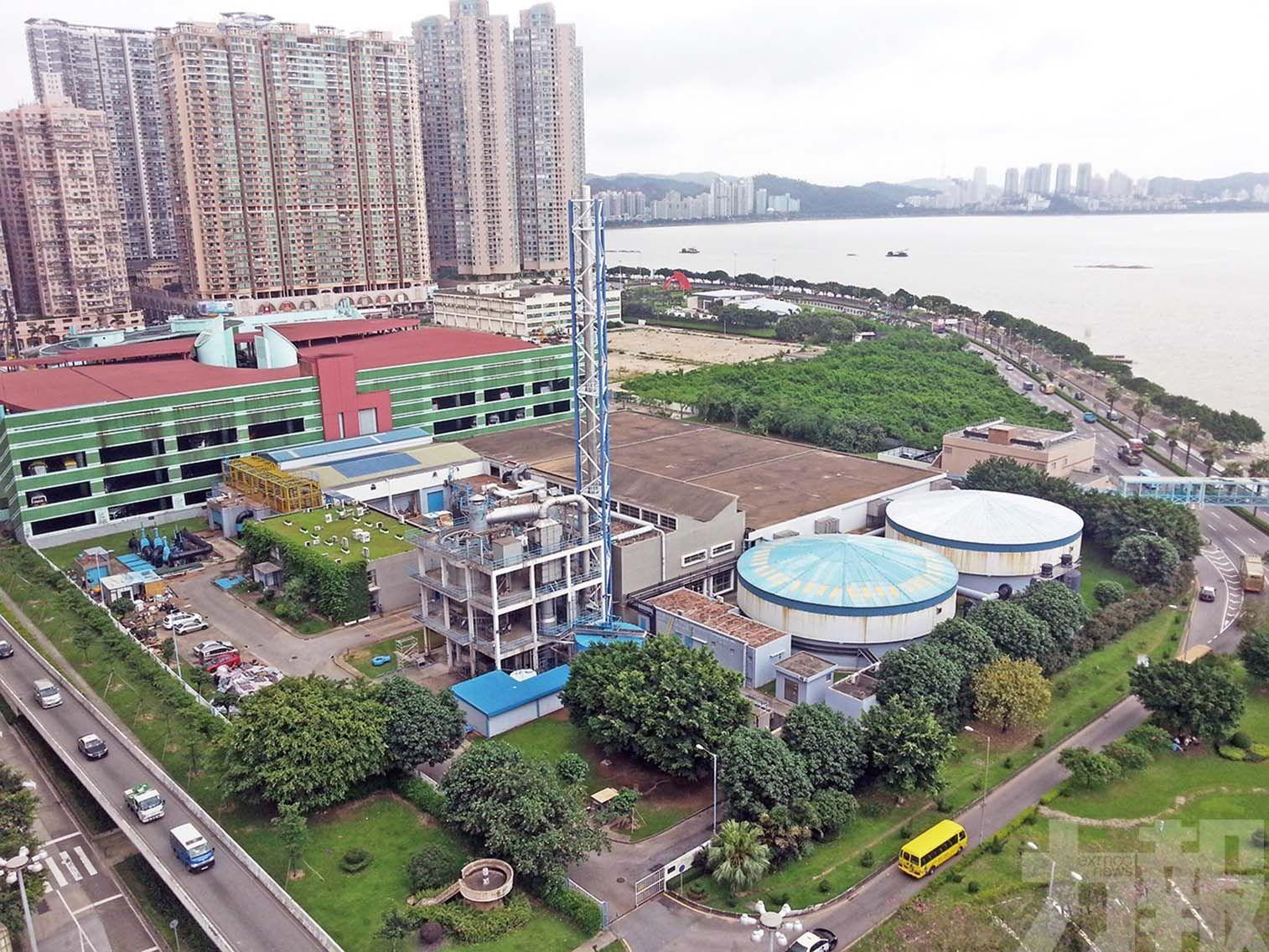 譚偉文:人工島南端將建新污水廠