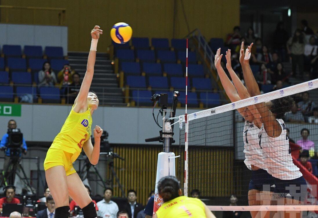 中國女排世界盃豪取7連勝