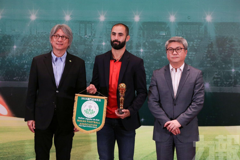 杜亞迪榮膺「澳門足球先生」