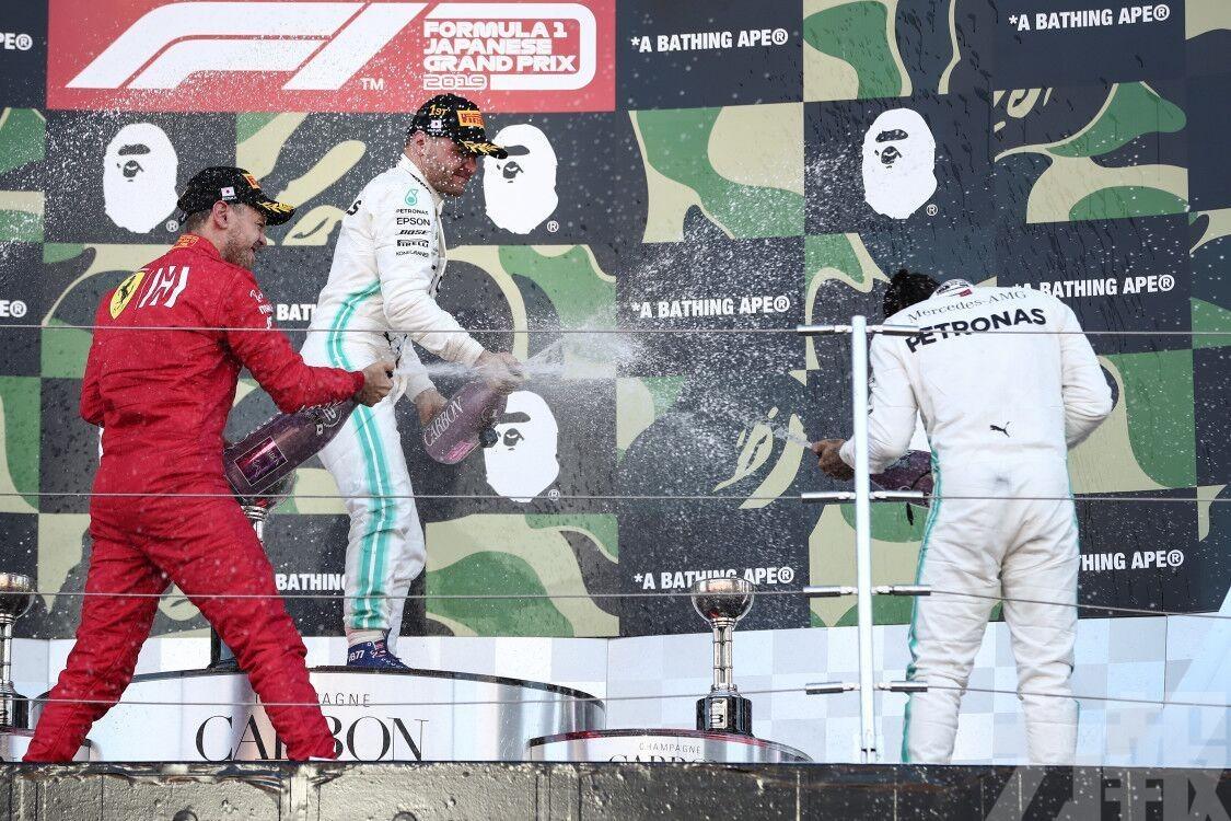 有片!保達斯F1日本站封王