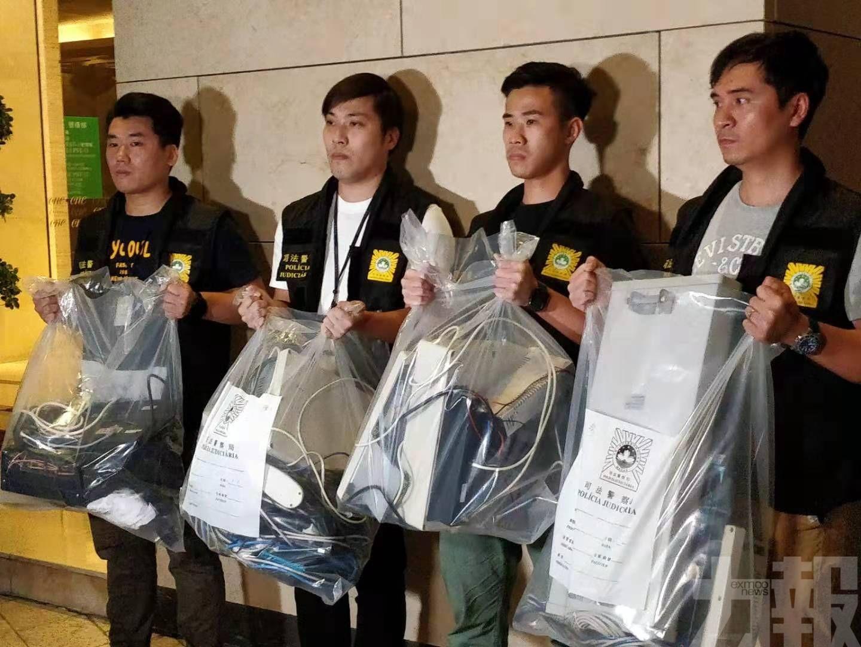 兩本澳男子協助犯罪集團被捕