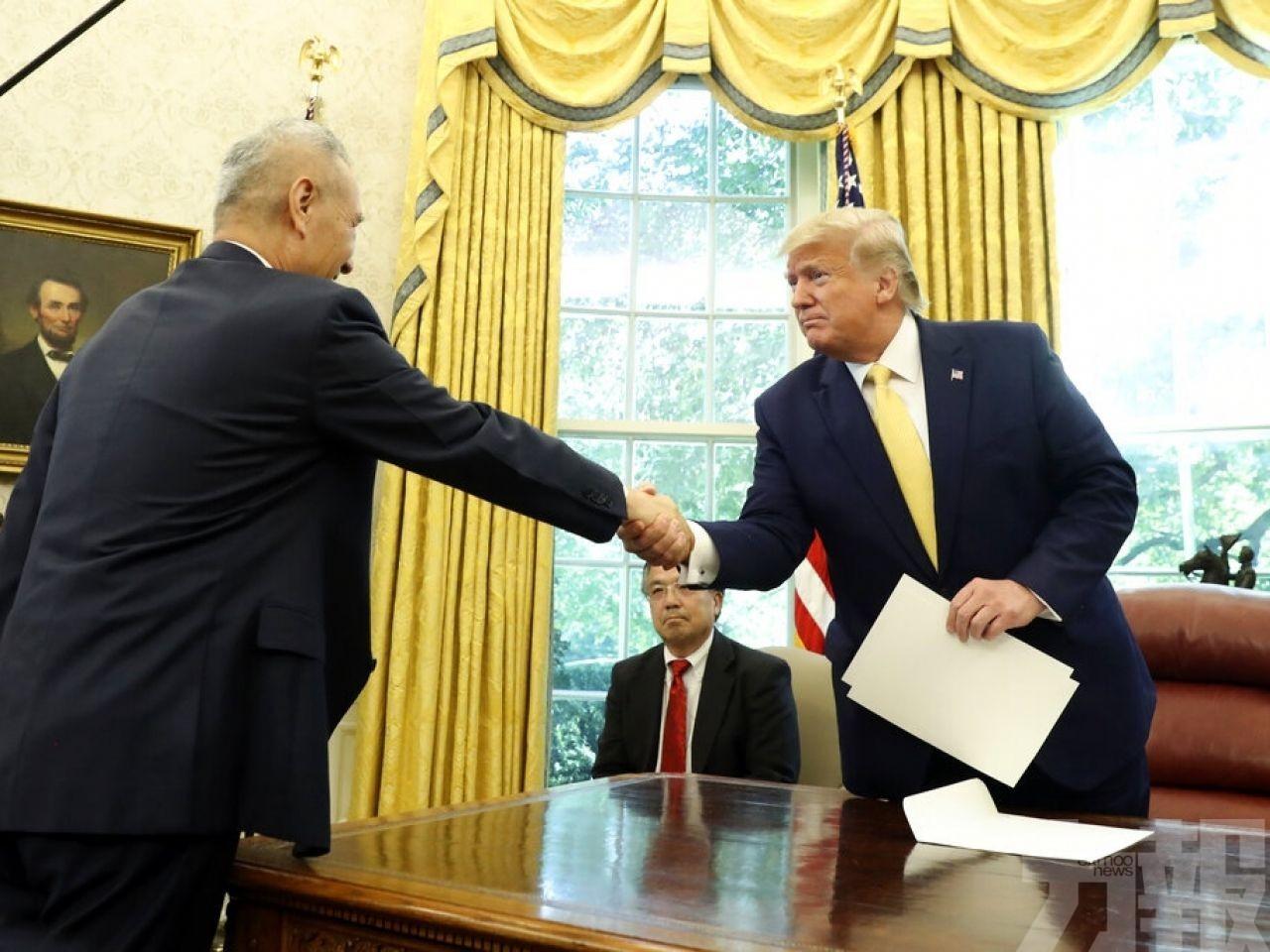 特朗普:不與華簽任何貿易協議