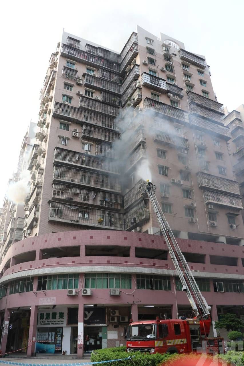 消防到場發現大廈消防喉無水