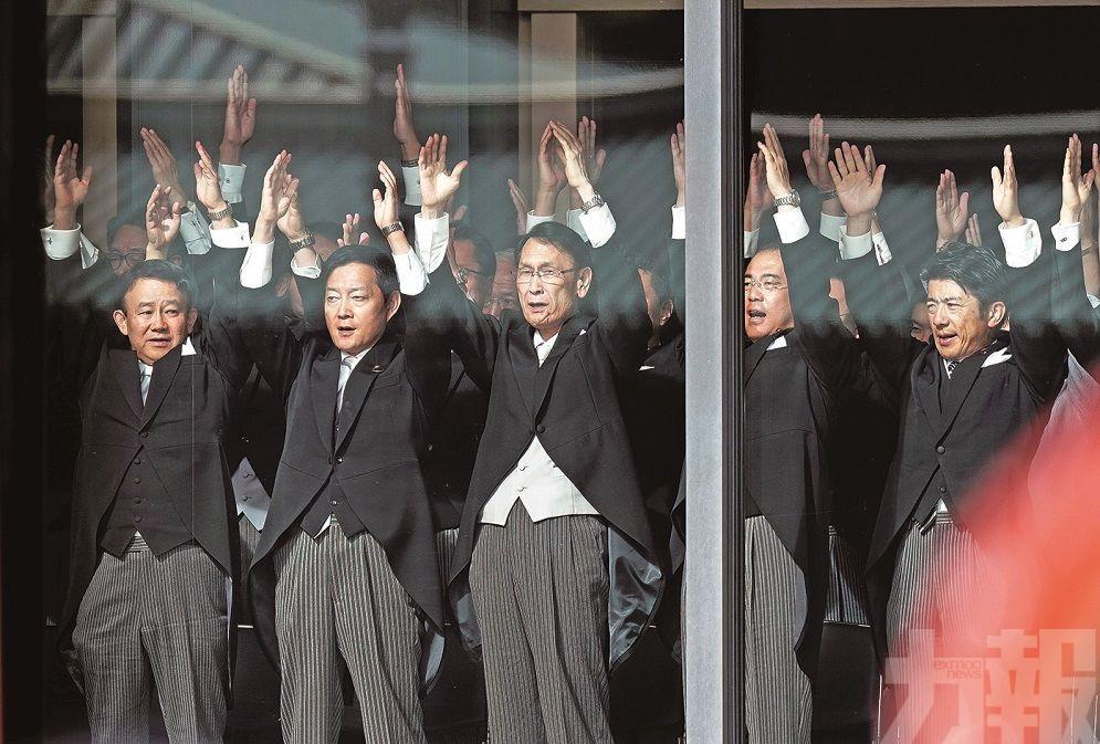 日皇登基祈願世界和平